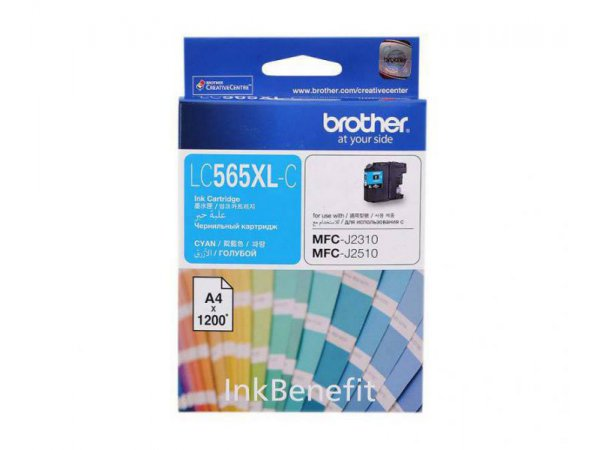 Картридж Brother LC565XL-C (Cyan)